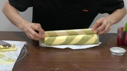 分享蛋糕卷做法, 3种花纹毛巾卷, 手残业余吃货也能轻松做成功!
