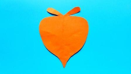 儿童剪纸小课堂: 剪纸萝卜, 动手动脑, 一学就会