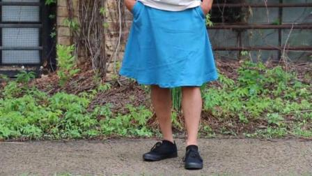 裙子不是女人专利? 男人专属裙子, 获得1万众筹!
