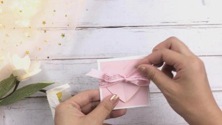 漂亮的教师节心形贺卡的制作方法, 送给老师表达祝福