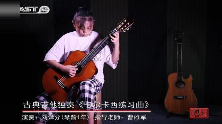 古典吉他独奏《卡尔卡西练习曲》by 刘译分