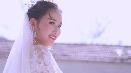 很漂亮的回族新娘光阴GOOD拍摄