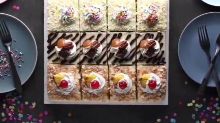 5种经典美式甜点制作过程, 高颜值超美味, 家庭烘焙必备食谱