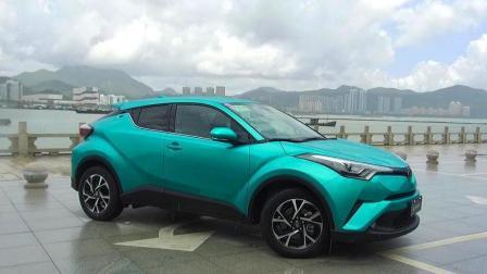 两分钟看新车: 广汽丰田CHR 品质不俗价格不低