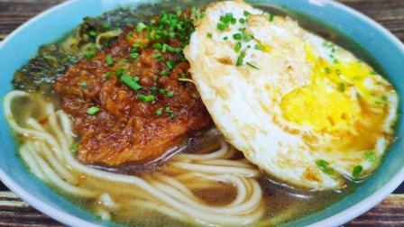 大排面, 一道经典传统美味, 老刘教你在家做, 经济实惠还管饱!