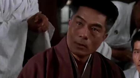 日本人进教室门骂陈真被爆打, 师傅来了说: 幸亏人家手下留情!