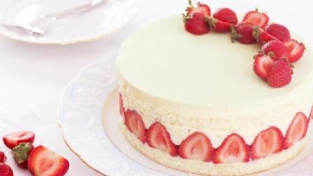 自己做的草莓蛋糕, 朋友都问我是在哪里买的