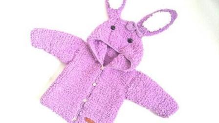 燕子编织  绒绒线兔子毛衣编织