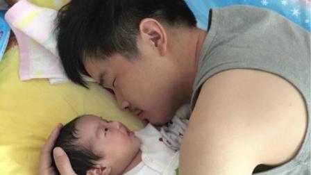 三岁儿子看到爸爸抱着六个月的妹妹, 一气之下大骂, 宝爸却笑了!