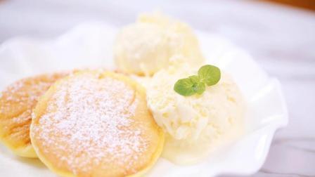 超简单的日式舒芙蕾松饼, 轻盈如云, 零厨艺的小白一看都会