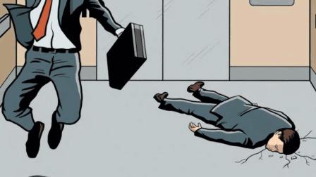 如果电梯突然下坠, 人在落地瞬间跳起来, 这样能保命吗?