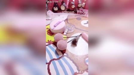 草莓葡萄翻糖蛋糕蝴蝶结做了好久求赞转评