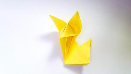 折纸王子教你折纸狐狸, 小朋友很喜欢的手工