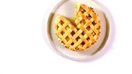 妈妈教我做的美式苹果派, 失败了很多次终于成功了