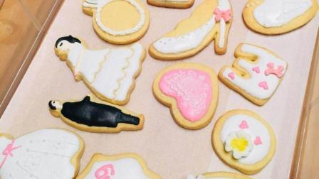 糖霜饼干铺面的方法 甜品台婚礼饼干 适合新手