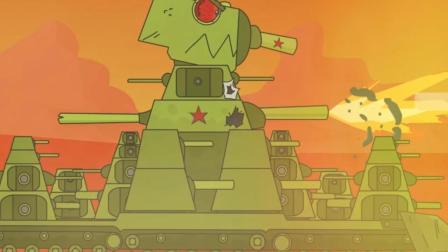 坦克世界动画: 一言不合就同化? 苏系百运是不是有信仰加成啊!