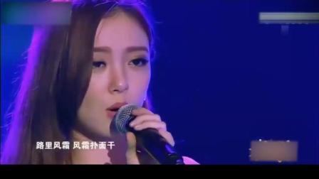 这美女火了! 除了张国荣王祖贤, 是唯一一个把倩女幽魂主题曲演绎的入木三分的