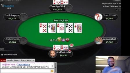 Daniel Negreanu游戏扑克之星高额桌