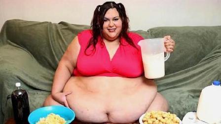 世界上最胖的女人860斤, 因为体重过胖两次流产, 下决心要减肥!