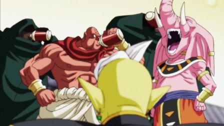 龙珠超 : 找几个喝蛋白饮料的肌肉男参加力量大会, 第十宇宙确定不是来搞笑的?