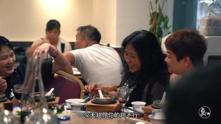 大叔改良香港平民小吃, 海鲜熬汤底不加味精, 顾客排30米长队来吃