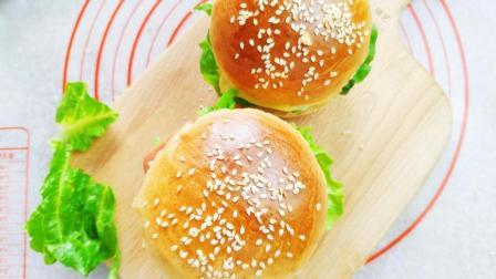 汉堡包的家常做法, 简单又好吃, 以后不用再去买啦!