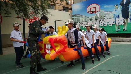9.12南京一校军训第二天12345班
