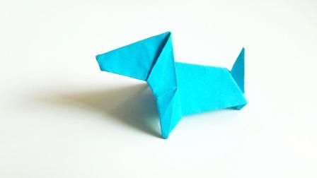 折纸王子折纸巴吉度猎犬, 小朋友很喜欢的手工