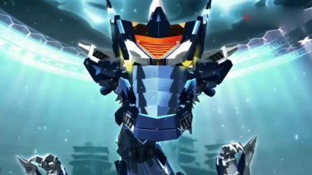 《超兽武装》龙戬火麟飞两人配对成功, 成功进入超兽状态