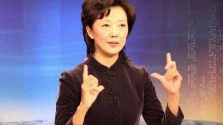 央视20年不说话女主播, 一开口便惊艳全场, 难怪