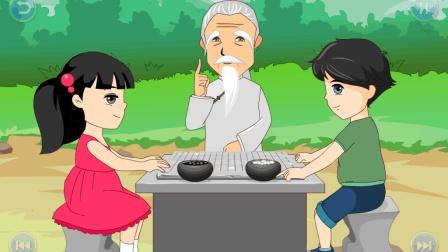 【反制对方】李老师少儿围棋复盘 围棋对弈学习培训如何下围棋