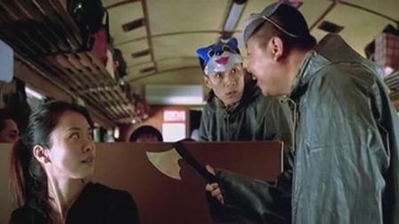 天下无贼:打劫的碰到女警察,立马怂了!这是被一窝端了吗!