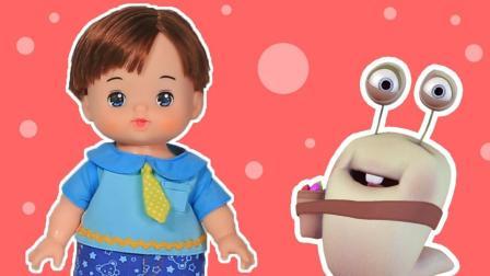 咪露的好朋友安歌 洋娃娃过家家