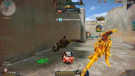 生死狙击轻风: 游戏中最豪华的近战武器之一 金龙偃月刀生化刀僵尸 龙闪!