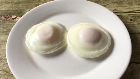 原来煮荷包蛋这么简单, 个个圆嫩, 一点都不散花, 好看又好吃