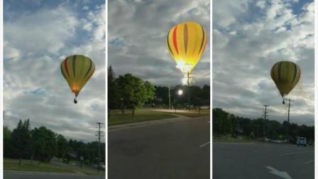 热气球失控触碰高压线引发重大事故