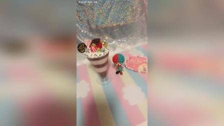 巧克力草莓冰激淋蛋糕