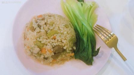 减脂餐: 杂蔬糙米牛肉焖饭