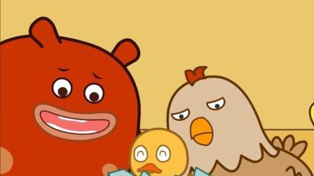 咕力咕力丫米果: 糊涂的鸡妈妈把小鸡丢了 小游戏