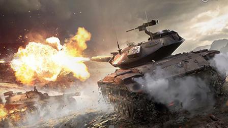 1300名士兵火拼20辆坦克