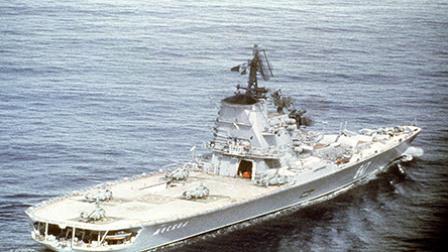 航母被300多条裂缝搞沉