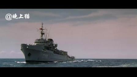这是二战电影片投放最多一次深水炸弹 水下潜艇都被炸的不能动啦