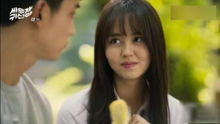 韩国的女鬼居然为了一块小小鸡蛋卷放弃做鬼的尊严! 是有多好吃啊