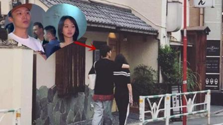 郑爽日本拍摄《青春斗》张恒千里探班, 紧搂女友宣示主权: 她是我的人