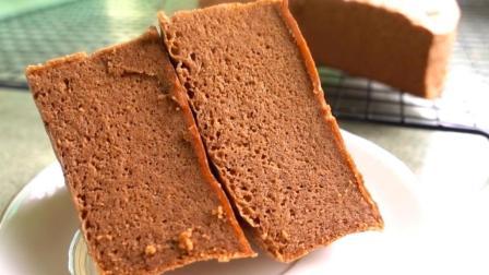 巧克力蒸蛋糕这样做, 好吃不腻, 没有烤箱也能做