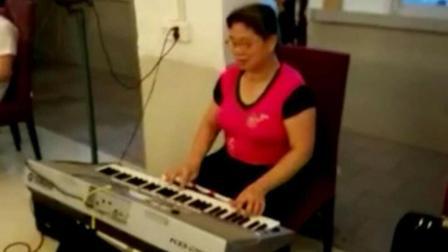 (五): 二十首经典歌曲连奏: 电子琴演奏: (往事只能回味: 边疆处处赛江南: 牡丹之歌: ……等