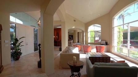 印第安高端定制别墅, 充满阳光的开放式格局