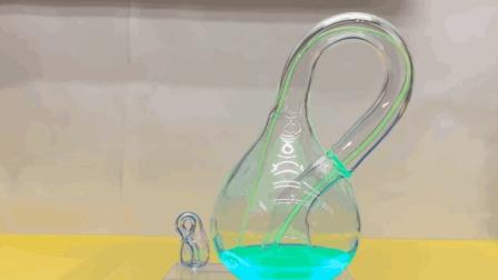 这个瓶子怎么装都装不满? 很多人说现实世界制造不出来