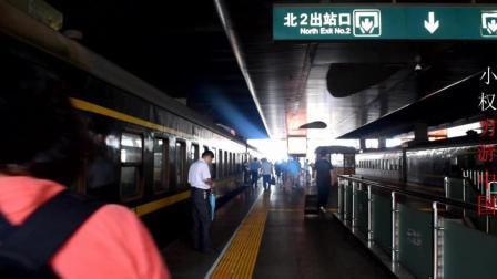 小伙穷游中国, 第一次坐绿皮火车, 太激动了