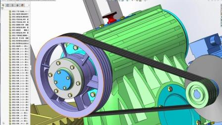 Solidworks视频教程: V字带设计及校核讲解